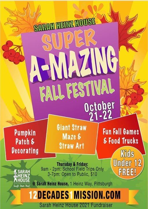 Super A-Mazing Fall Festival | Event in Pittsburgh | AllEvents.in