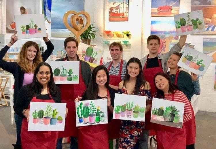 WINE & PAINT at the C! | Event in Coronado | AllEvents.in