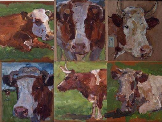 Workshop Koeienschilderen