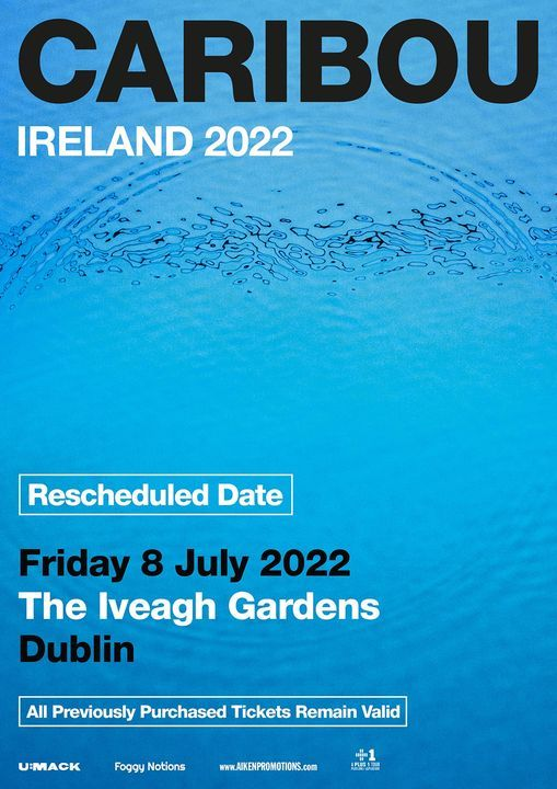 Caribou - Iveagh Gardens, 9 July | Event in Dublin | AllEvents.in