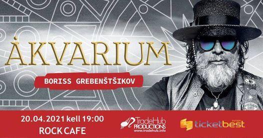 Boriss Grebenštšikov & Akvarium, 20 April | Event in Tallinn | AllEvents.in