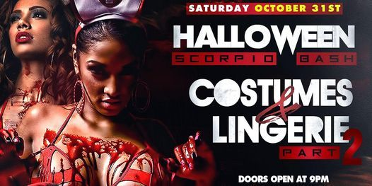 Halloween 2020 Muncie Indiana HALLOWEEN SCORPIO BASH Costumes / Lingerie (Part 2) Muncie, IN
