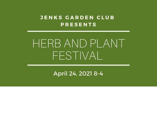 Jenks Herb and Plant Festival 2021, 24 April   Event in Jenks   AllEvents.in