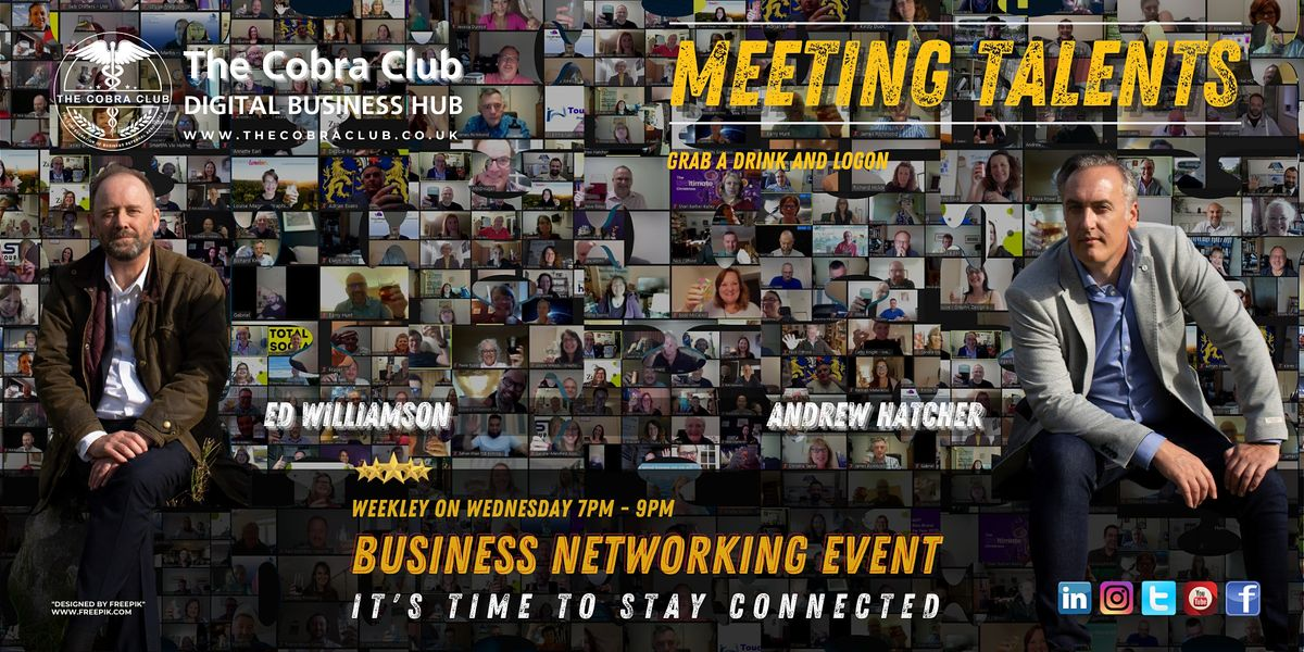 Meeting Talents, Business Networking Event,  Swindon, Wiltshire, Gloucester | Online Event | AllEvents.in