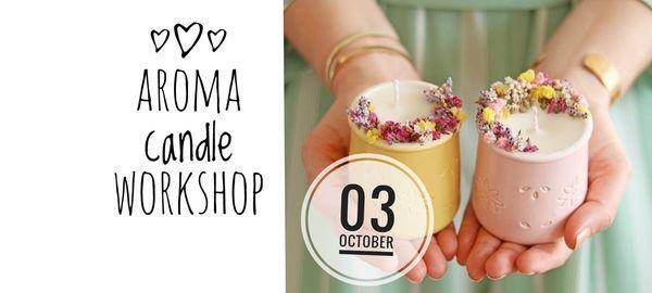 Botanical Aroma Candle Workshop, 3 October   Event in Bangkok   AllEvents.in