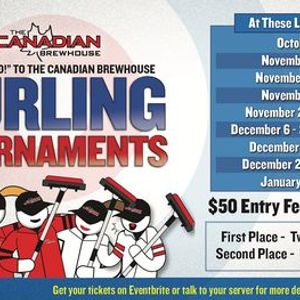 Spruce Grove Patio Curling Tournament