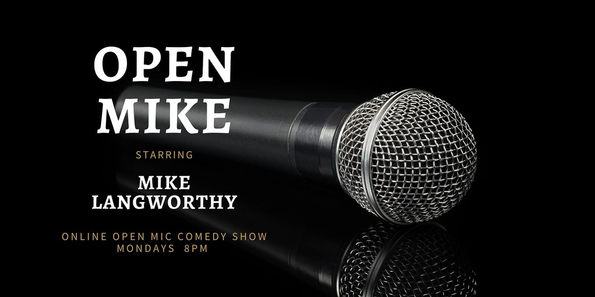 LIVE STREAM Open Mike Comedy Show