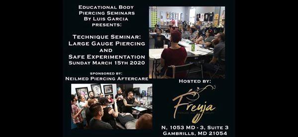 Seminar Large Gauge Piercing And Safe Experimentation At Freyja