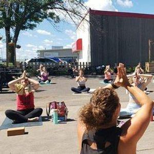 Solstice Yoga   BeerKombucha at Ursa Minor