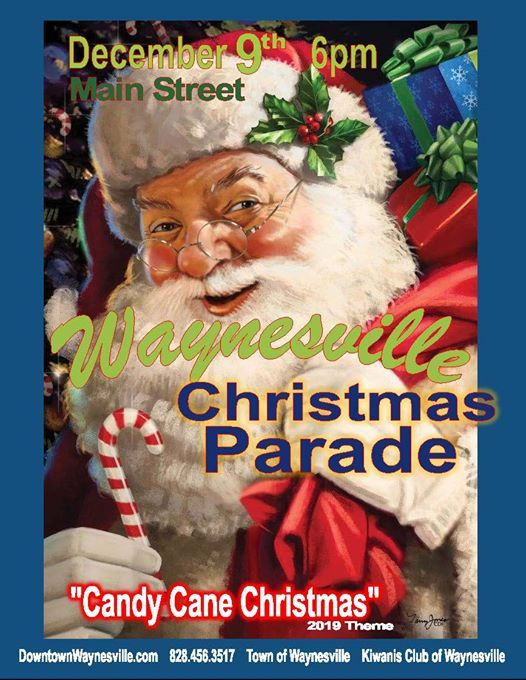 Christmas Parade in Waynesville
