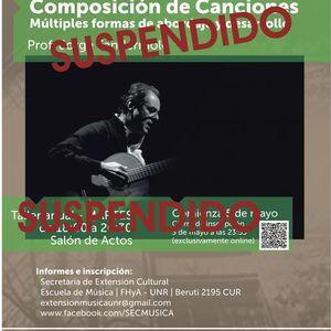 Suspendido Composicin de Canciones. Prof. Jorge Fandermole