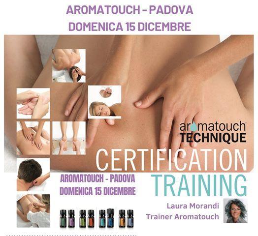 Padova Corso doterra AromaTouch Technique 15 Dicembre