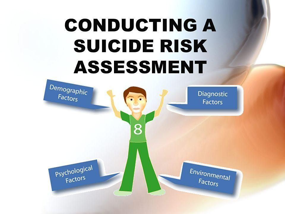Risky Business The Art of Assessing Suicide Risk and Imminent Danger - Christchurch