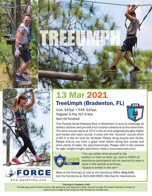 TreeUmph (Bradenton, FL), 13 March | Event in Tampa | AllEvents.in