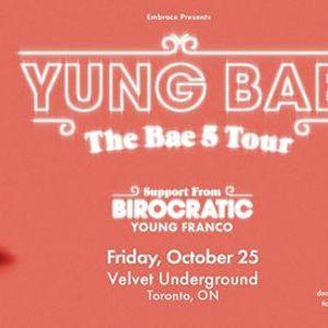 Yung Bae at Velvet Underground  Oct 25