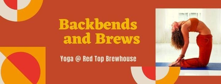 Backbends & Brews: Yoga At Red Top, 24 October | Event in Acworth | AllEvents.in