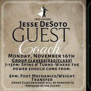 Master Group Classes w Jesse DeSoto