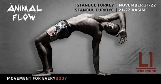 Animal Flow L1 Istanbul, Turkey | Event in Istanbul | AllEvents.in