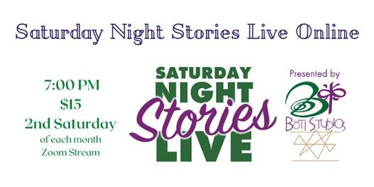 Saturday Night Stories Live Online