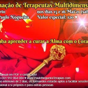 Curso de Terapia Multidimensional no Porto em Mai21