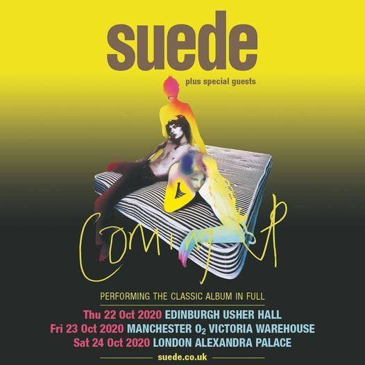 Suede - Live Online, 24 April   Online Event   AllEvents.in