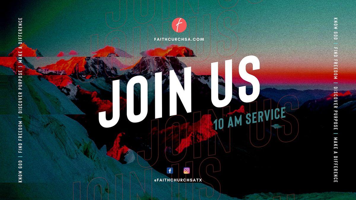 Sunday Service - 10 am  *Children's Church Provided* | Event in San Antonio | AllEvents.in