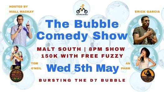 The Bubble Comedy Show, 2 June | Event in Ho Chi Minh City | AllEvents.in