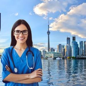 Be a Permanent Resident of Canada in 2 years as a NURSE