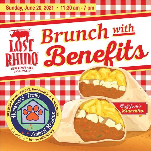 Brunch With Benefits - Homeward Trails Animal Rescue, 20 June | Event in Ashburn | AllEvents.in