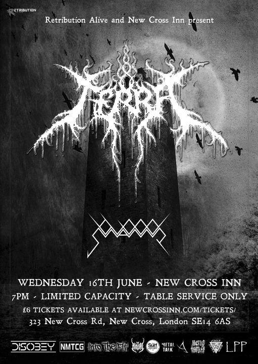Retribution Alive: Terra / Bloodswamp, 16 June | Event in Croydon | AllEvents.in