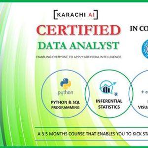 Karachi AI  Certified Data Analyst Training  Batch 5
