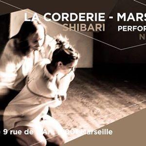 Performance Shibari  La Corderie Nicolas Yoroi & Zeryl
