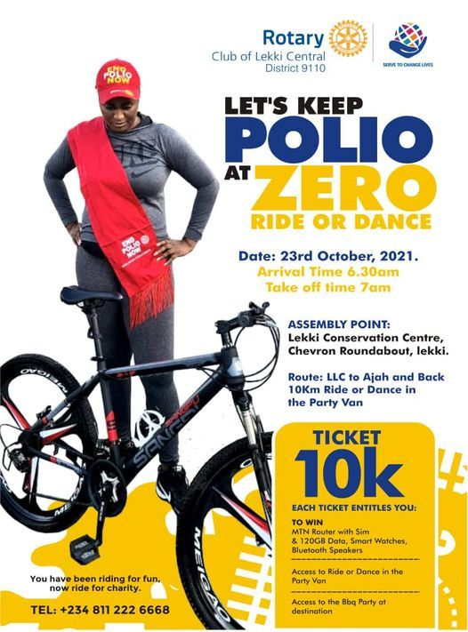 Polio Ride or Dance Parade, 23 October | Event in Tema | AllEvents.in