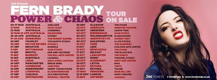 Fern Brady Power & Chaos Tour