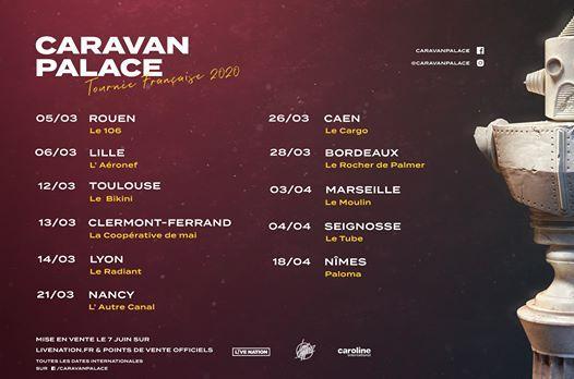 Caravan Palace  03.04.20  Le Moulin