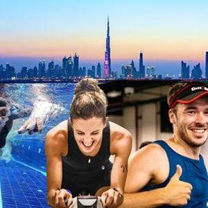 IRONSTAR INDOOR TRIATHLON SERIES 2021 in Dubai - Race 2