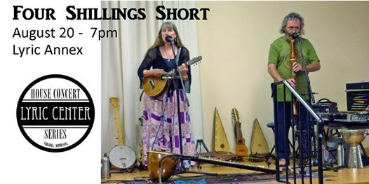 Four Shillings Short House Concert