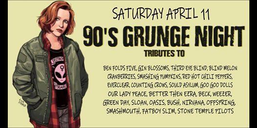 90s grunge night