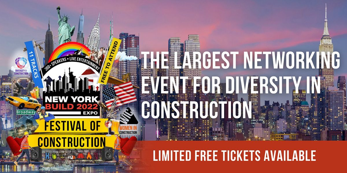 New York Build 2022-Diversity in Construction Networking Event, 2 March | Event in New York | AllEvents.in