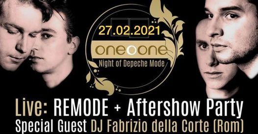 One – O – One – Night of Depeche Mode | Live: Remode, 27 February | Event in Halle | AllEvents.in