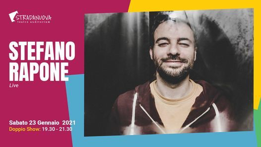Stefano Rapone Live, 23 January | Event in Genova | AllEvents.in