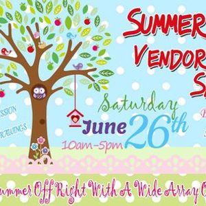 Summer Bazaar Vendor & Craft Show