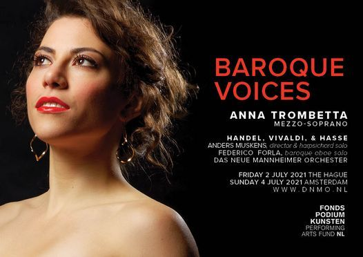 Baroque Voices feat. Anna Trombetta (The Hague), 2 July | Event in The Hague | AllEvents.in