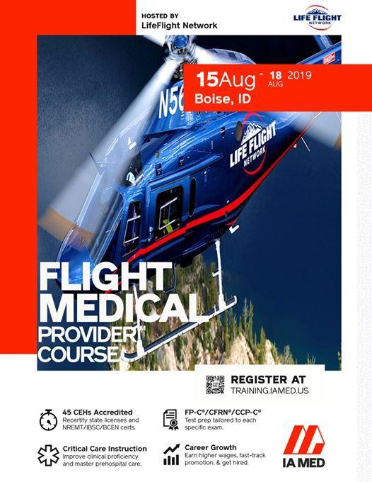 Flight Medical Provider (Boise, ID) at Saint Alphonsus, Boise