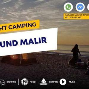 Night Camping At Kund Malir Beach