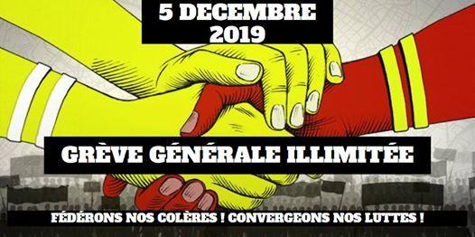 Grve Gnrale Illimite - Lyon