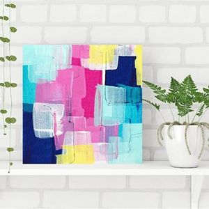Abstract Acrylic Palette Knife Art with Maggi McDonald