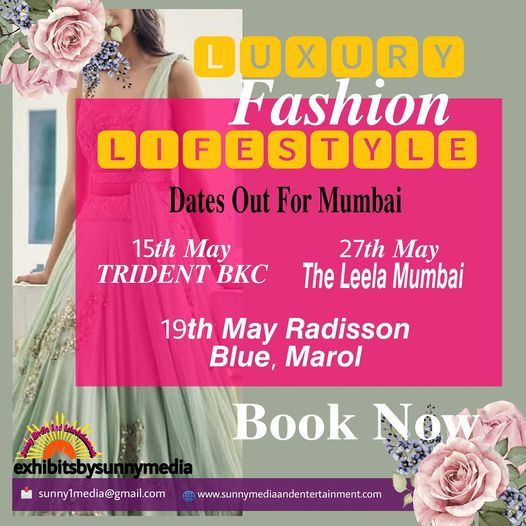 LFL Luxury Fashion Lifestyle Exhibitions, 15 May | Event in Mumbai | AllEvents.in