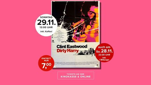 Kultkino: Dirty Harry, 28 November | Event in Lippstadt | AllEvents.in