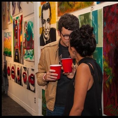 CHOCOLATE AND ART SHOW - LOS ANGELES